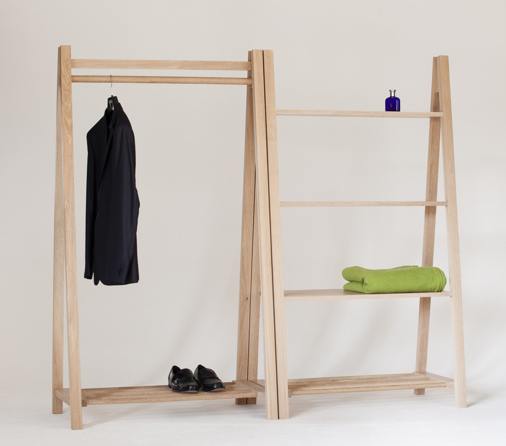 Wooden Clothes Rack: Contemporary Clothes Rail. Contemporary Clothes Rack