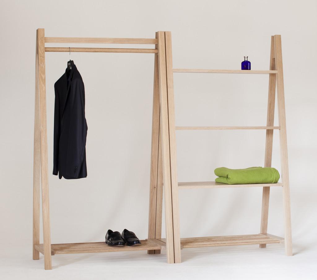 contemporary clothes rail contemporary clothes rack. Black Bedroom Furniture Sets. Home Design Ideas